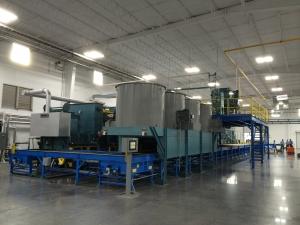 modern rolling heart annealing furnace