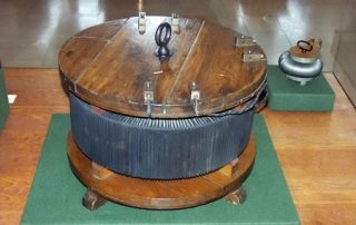 historical example of electrical transformer core